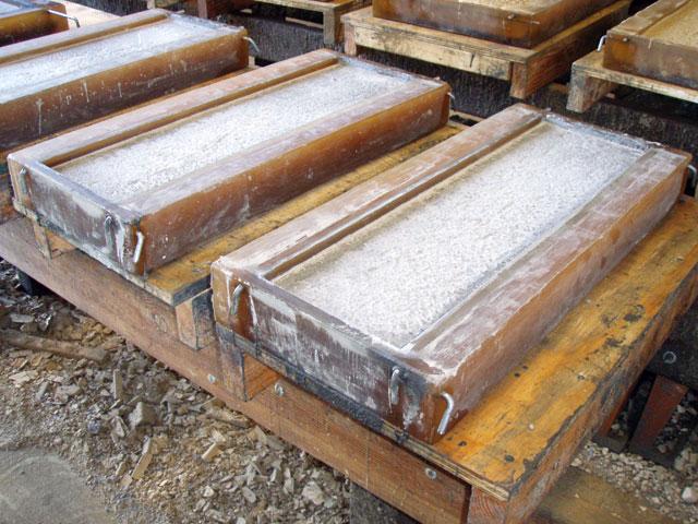 Литье из бетона