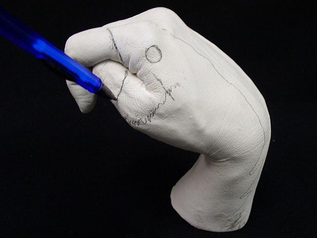Как сделать отливку руки